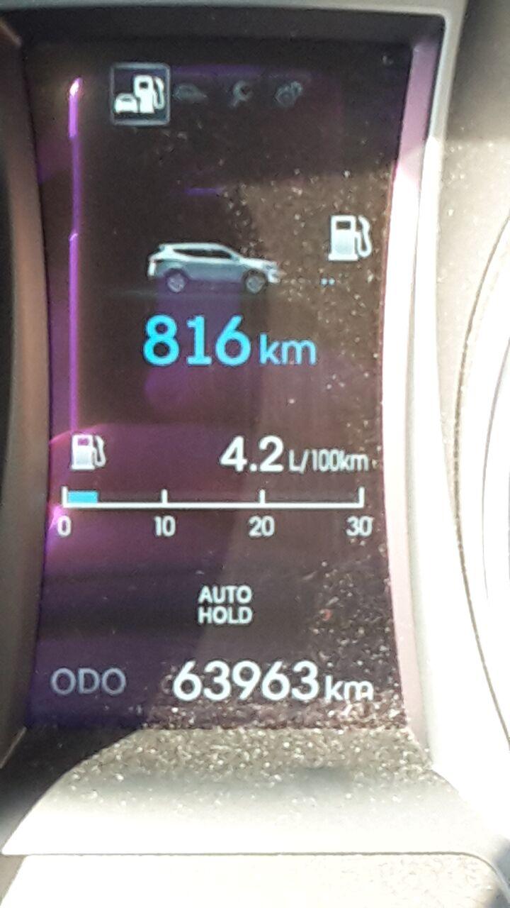 SantaFe minimum Diesel Verbrauch