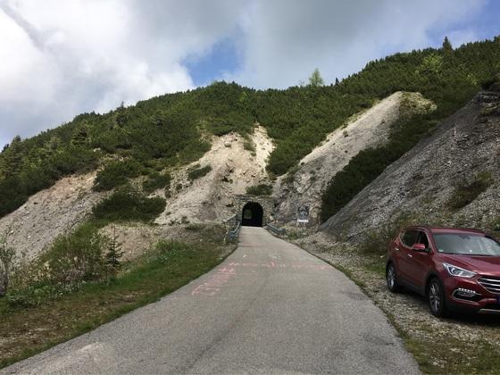 Monte Zoncolan, Friaul, Italien